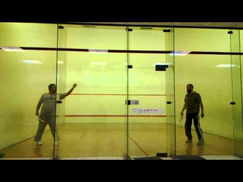 Asif Rasool vs Khalid Taj Squash Match