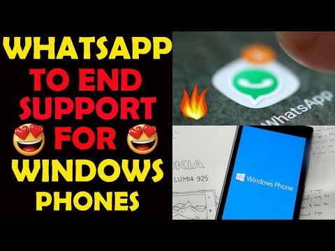 OMG WhatsApp To End Support For Windows Phone Based Smartphones