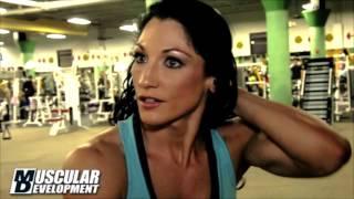 Candice Keene; 2013 Arnold Classic Teaser Muscular Development Magazine