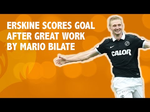 Erskine scores goal after great work by Mario Bilate