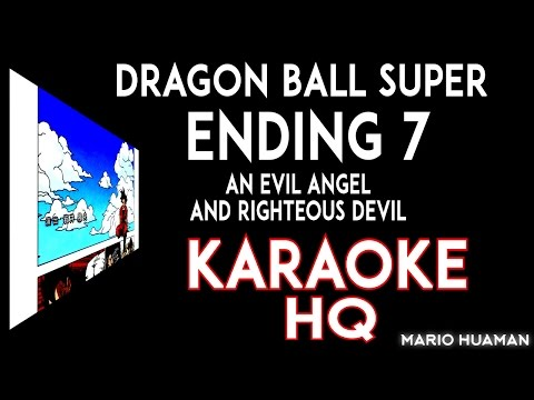 Dragon Ball Super Ending 7 COVER KARAOKE (The Collectors - An Evil Angel And Righteous Devil)