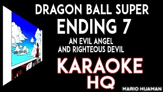 dragon ball super ending 7 cover karaoke the collectors an evil angel and righteous devil