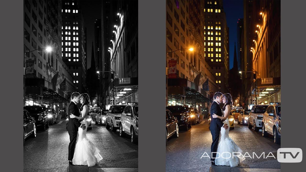 How To Shoot A Nighttime Wedding Photo In 9 Seconds Breathe Your Passion With Vanessa Joy Youtube