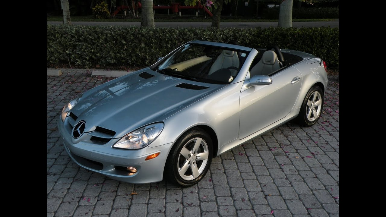 2007 mercedes benz slk class slk280 for sale in fort myers fl youtube. Black Bedroom Furniture Sets. Home Design Ideas