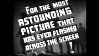 Things to Come Trailer (1936 full length sci fi film)