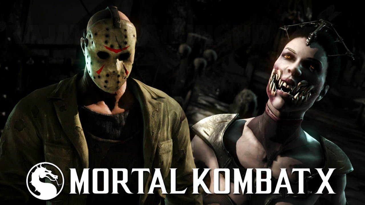 Mortal Kombat X - Jason Both Fatalities (Horror Pack Costumes) [1080p]  TRUE-HD QUALITY