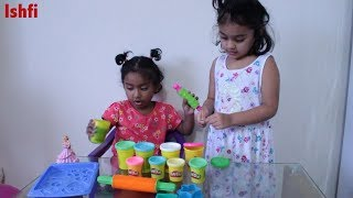 Funny Kids Learn Colors with Play Doh | Ishfi