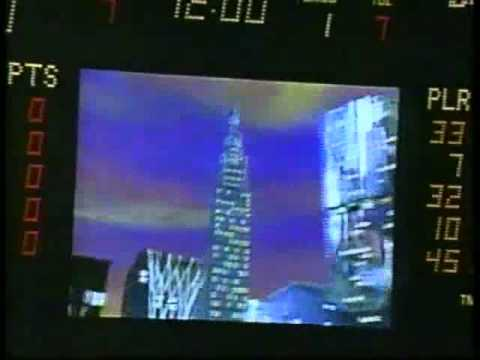 NBA on NBC 1995 Bulls vs Cavaliers Intro