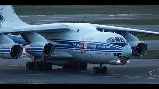 Volga-Dnepr Ilyushin Il-76TD-90VD Landing @ GOT