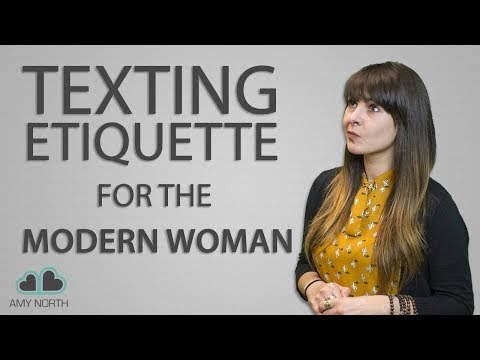 dating text message etiquette