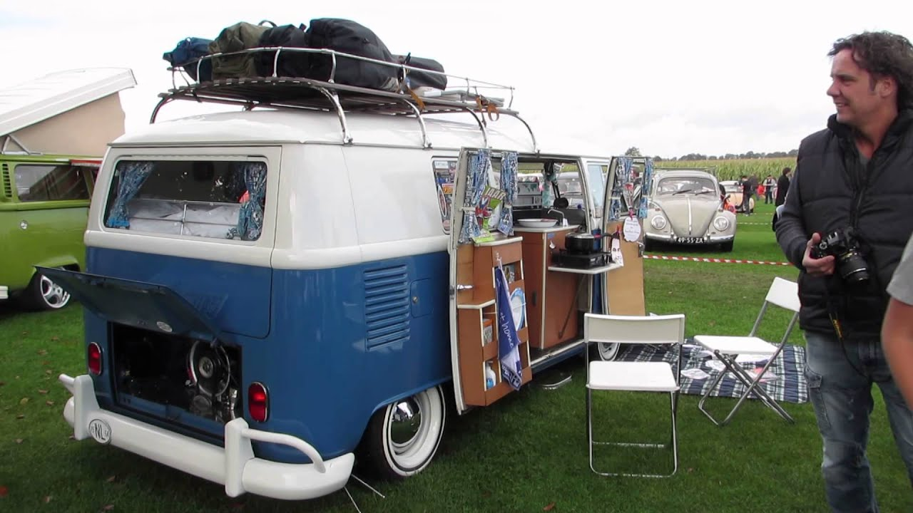vw camper t1 tilburg 2013 youtube. Black Bedroom Furniture Sets. Home Design Ideas