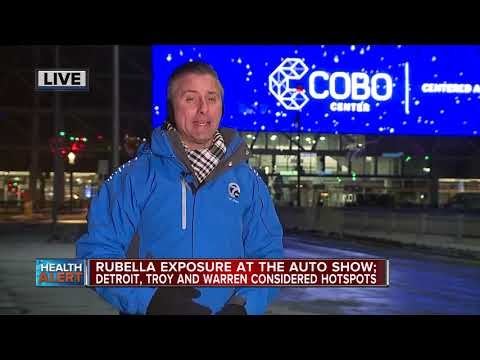State of Michigan warns of rubella exposure at North American International Auto Show
