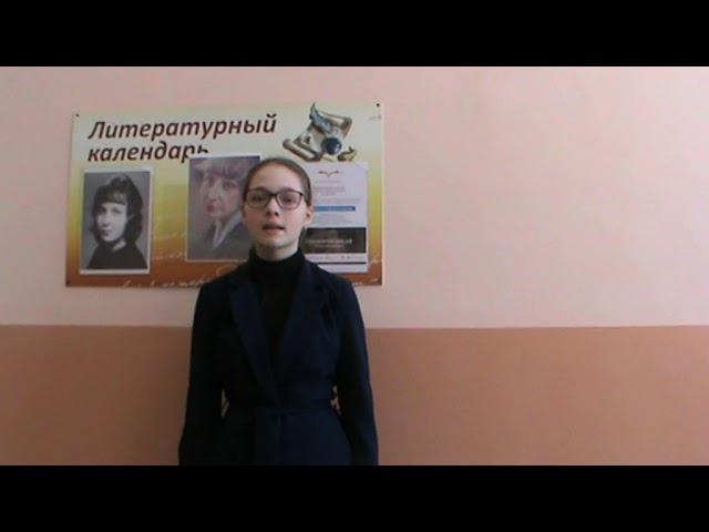 Изображение предпросмотра прочтения – КсенияПервухина читает произведение «Генералам 12 года» М.И.Цветаевой