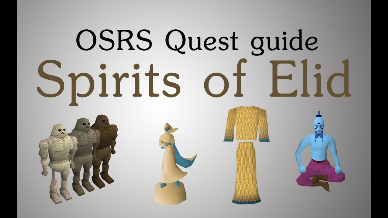 OSRS] Spirits of Elid quest guide - YouTube