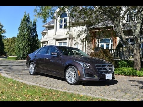 2014 cadillac cts review - youtube