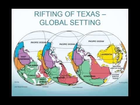 Tom Ewing- Texas Geologic History Quick Overview