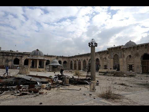 Before & after photos illustrate Aleppo destruction