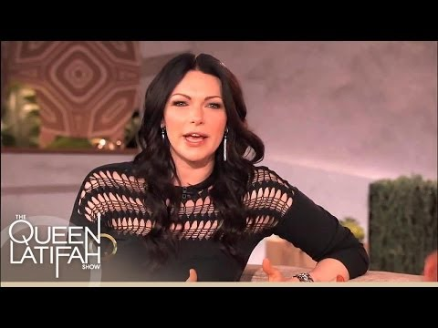 Laura Prepon Jokes About Her Rockin' Family Tradition on The Queen Latifah Show