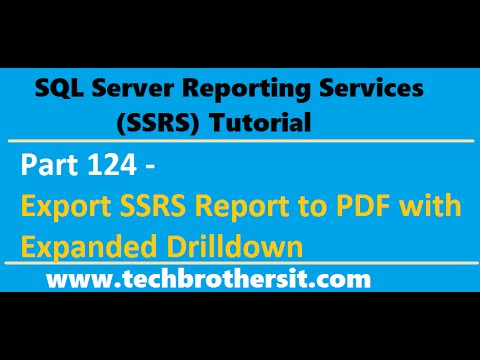 Ssis and ssrs tutorial pdf