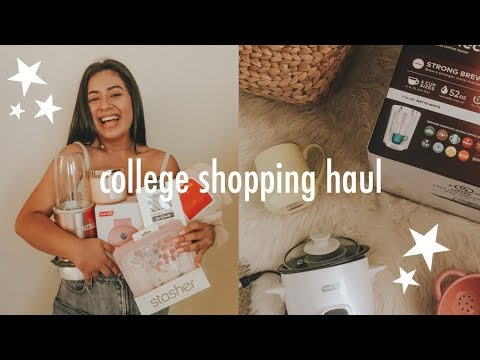huge college house & apartment haul
