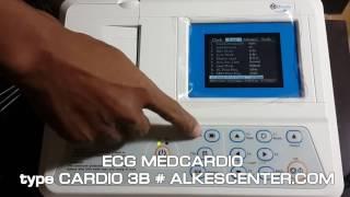 ECG 3 CH Medcardio demo tombolisasi, bisa  12 CH