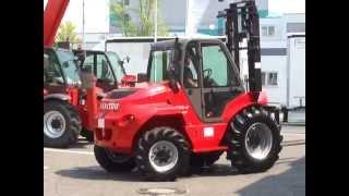 Manitou Gelände Stapler 3to 5,5mtr- Euro3Motor - Kaufen oder Mieten in Frankfurt