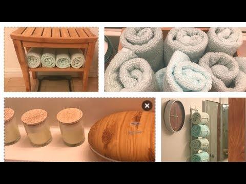 DIY BATHROOM MAKEOVER | RALAX SPA  DECORATION IDEAS