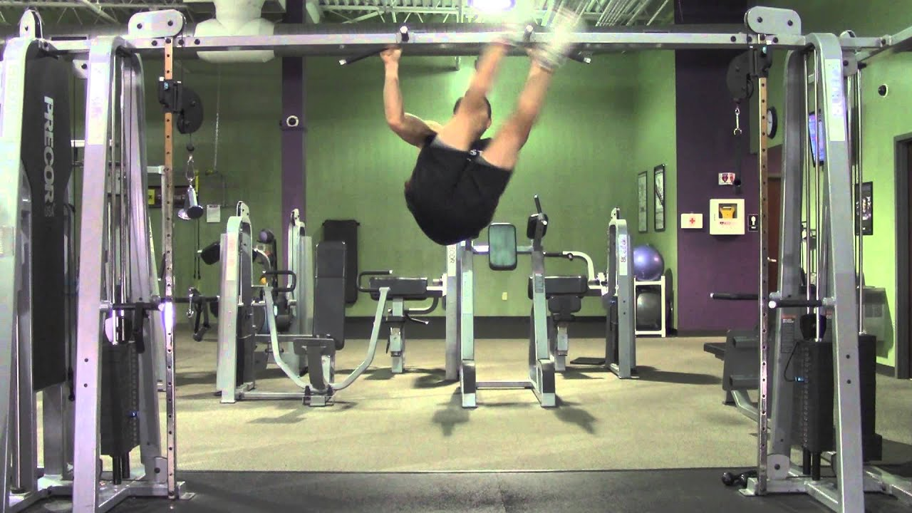 Hanging Leg Lifts For Abs