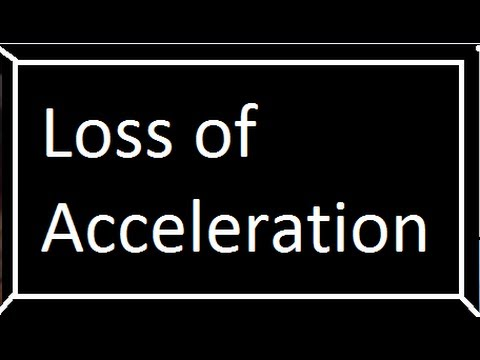 Loss of Acceleration While Driving a Vehicle?  Here's a Tip