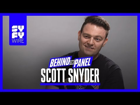 Scott Snyder on Dark Nights Metal, Batman Who Laughs & Baby Darkseid Behind the Panel  SYFY WIRE