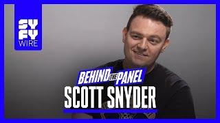 Scott Snyder on Dark Nights Metal, Batman Who Laughs & Baby Darkseid (Behind The Panel)   SYFY WIRE