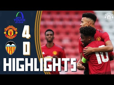 The Academy | UEFA Youth League Highlights | Manchester United 4-0 Valencia CF