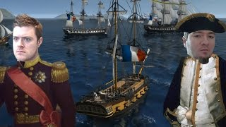 Naval Action Alpha Gameplay 60FPS - MASSIVE PVP GAME!!!