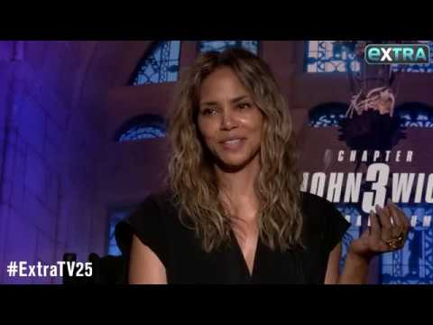 Uncle John - John Wick 3's Halle Berry Talks about breaking ribs in practicing.