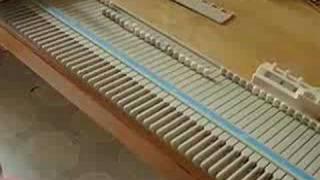 Singer LK 100 Knit Machine Instructions PART 1 of 2