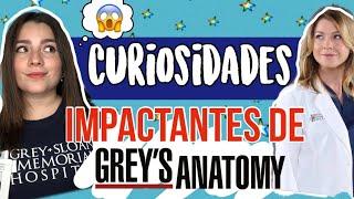 CURIOSIDADES IMPACTANTES DE GREY'S ANATOMY - PAUUDUB