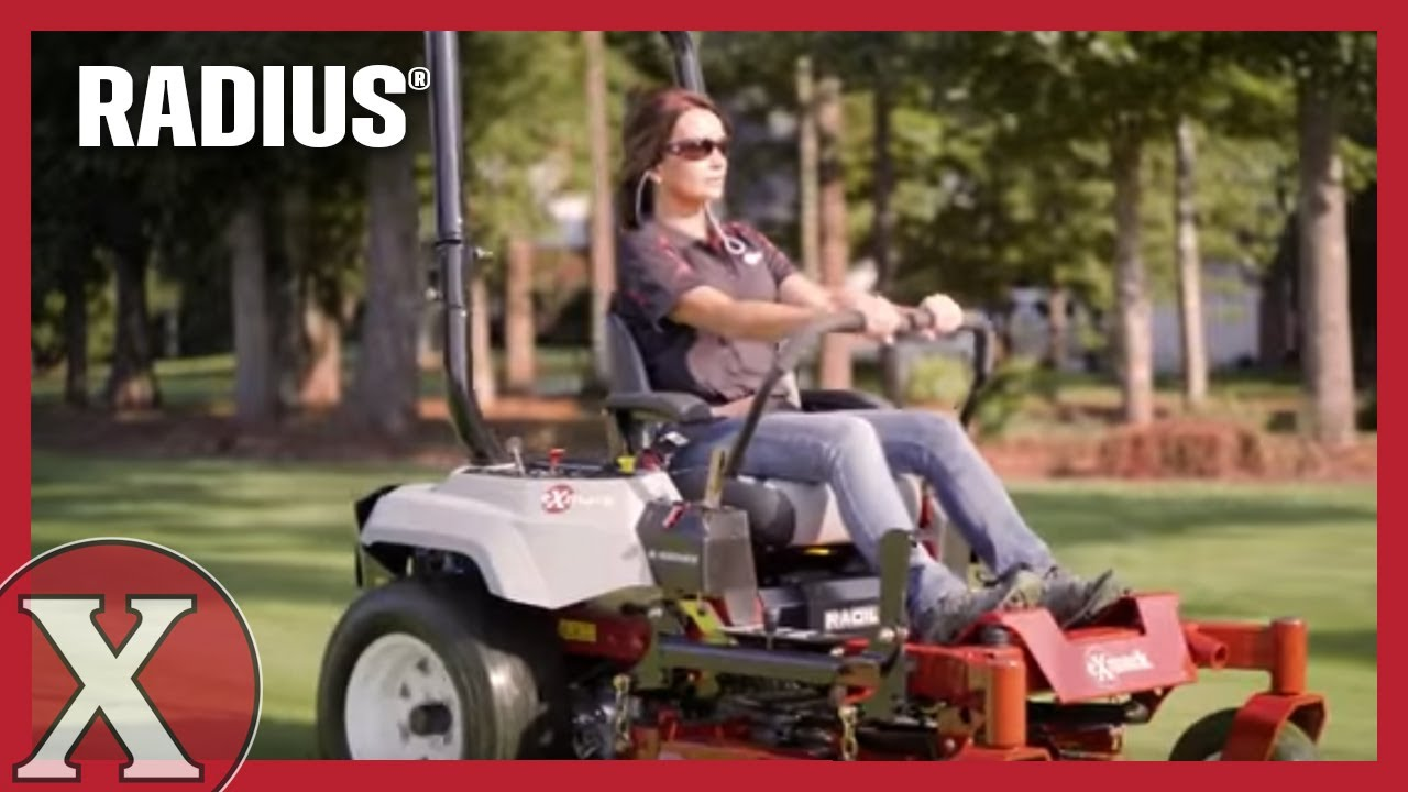 Radius Zero-Turn - Commercial Mowers | Exmark