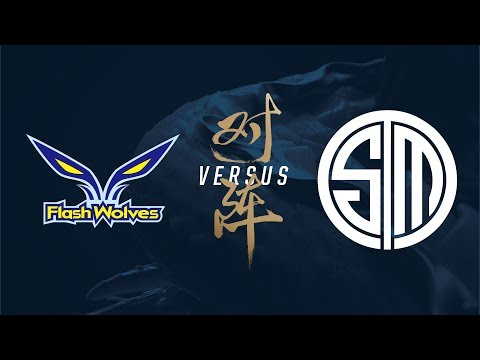 FW vs. TSM | Group Stage Day 2 | 2017 World Championship | Flash Wolves vs TSM