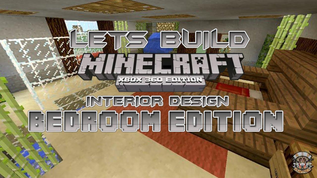Minecraft Bedroom Xbox 360 Lets Build Minecraft Xbox 360 Edition Interior Design Bedroom