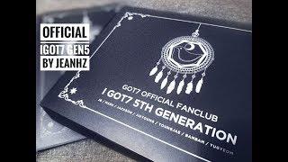Unboxing GOT7 Official Fanclub IGOT7 5th Generation แกะพัสดุติ่ง รีวิว IGOT7 Gen 5 by JeanHZ