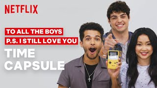 The To All The Boys Cast Reacts To 90s & 2000s Toys | Netflix