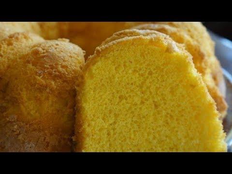 How To Make Egg-Yolk Sponge Cake