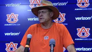 Auburn Coach Gus Malzahn Wraps Up Fall Camp For The Tigers