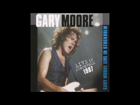 Gary Moore – Live In Stockholm 1987 (CD, Unofficial Release)