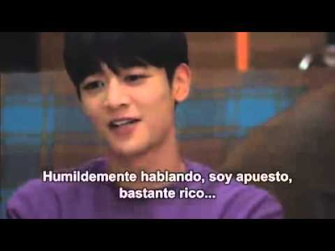 Because it's the first time - Minho cut moment (heartbreaking) Sub Español
