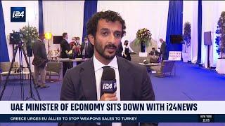EXCLUSIVE: Emirati Economy Minister Discuss Israel-UAE Abraham Accord