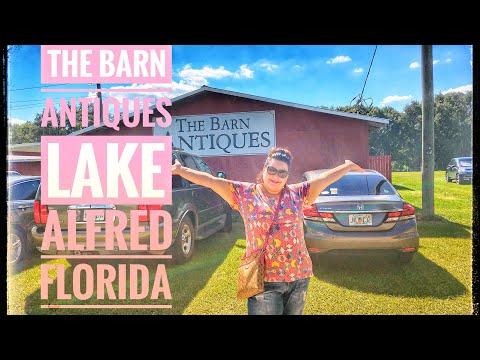 The Barn Antiques Lake Alfred Fl - Vintage Decor Shopping Trip