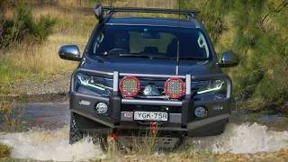 Field testing Pajero Sport fitted with prototype 4x4 accessories by...