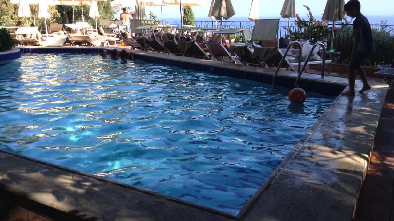 Taormina Sicily Hotel Villa Belvedere Part 1 Youtube