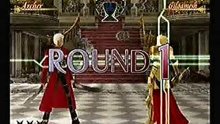 Fate Unlimited Codes - Archer VS Gilgamesh